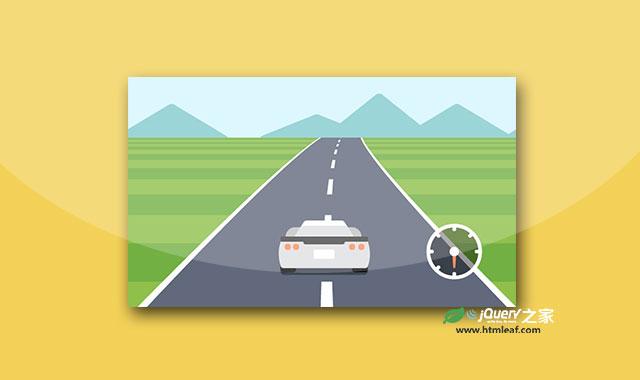 HTML5 Canvas 经典赛车小游戏