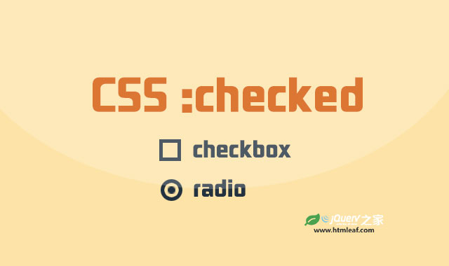 <b>:checked | CSS属性参考</b>