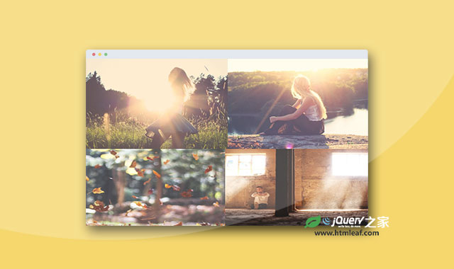 jQuery响应式网格图片画廊插件
