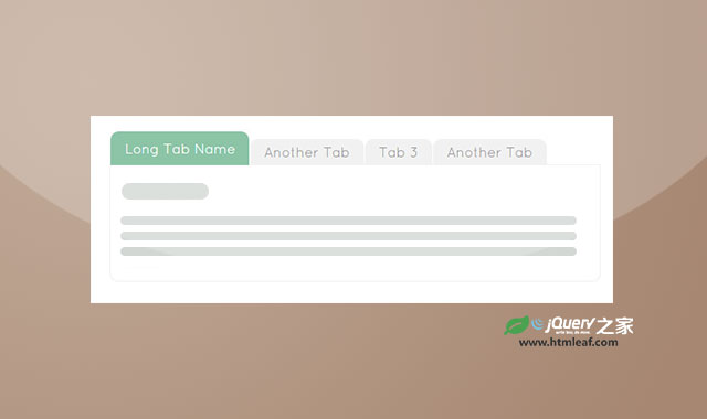 简单响应式jQuery tabs选项卡插件
