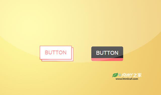 2款创意CSS3按钮设计效果