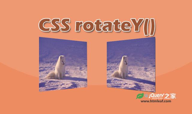 <b>rotateY() | CSS属性参考</b>