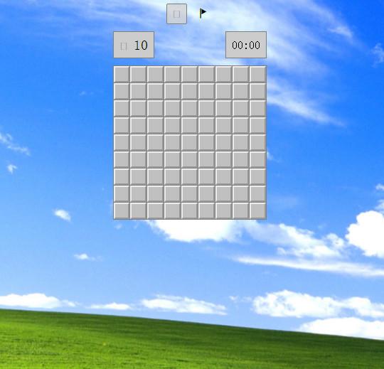 经典windows扫雷小游戏