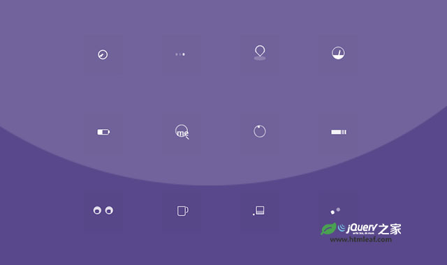 12种纯CSS3 Loader加载指示器动画特效