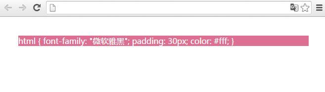 为style元素设置CSS样式的结果