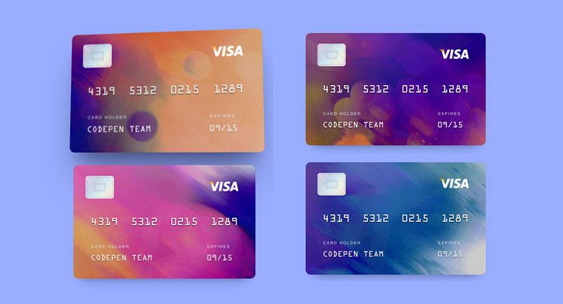 3d信用卡