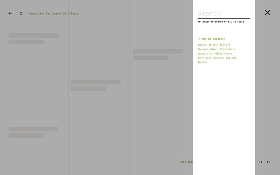 搜索界面设计效果-4