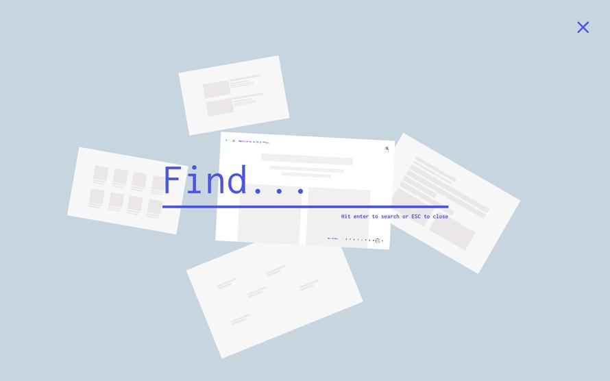 搜索界面设计效果-5