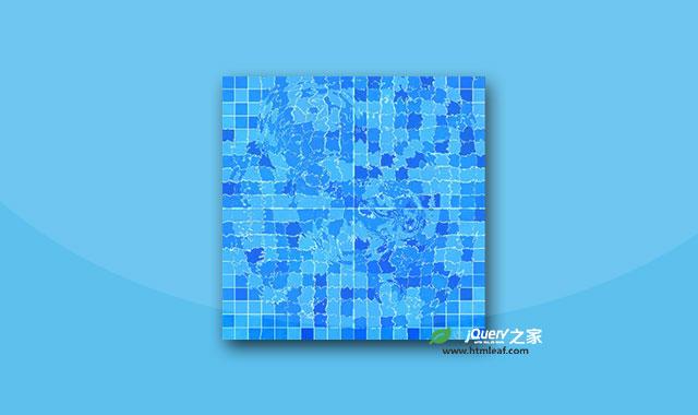 HTML5 canvas水波纹动画特效