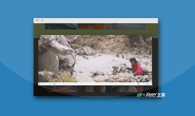 纯js图片和视频查看器插件