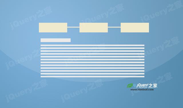jquery tabs选项卡设计效果