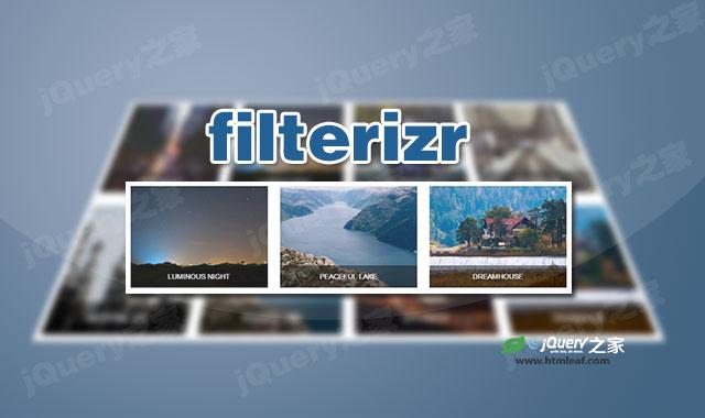 jquery和CSS3图片排序过滤搜索插件