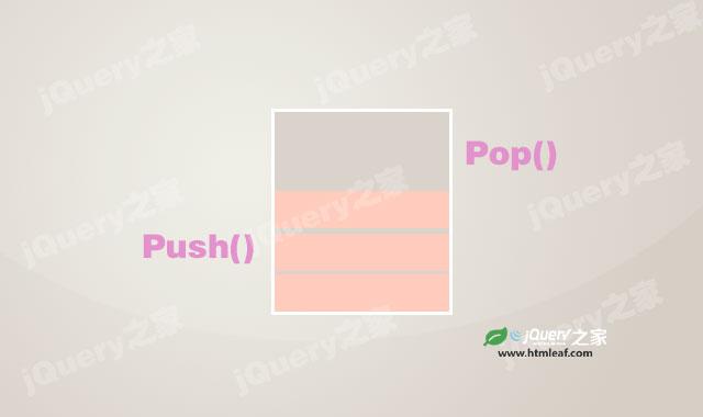 JavaScript中数组的栈方法