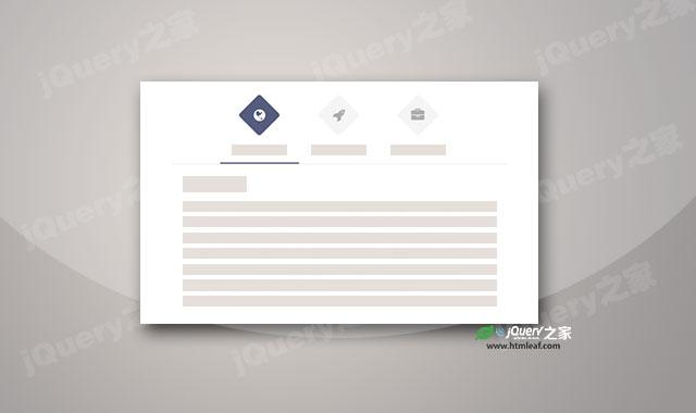 jquery和CSS3 Tabs选项卡