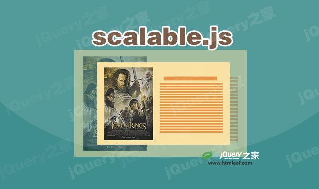 可使任何HTML元素动态缩放适合父元素的js插件