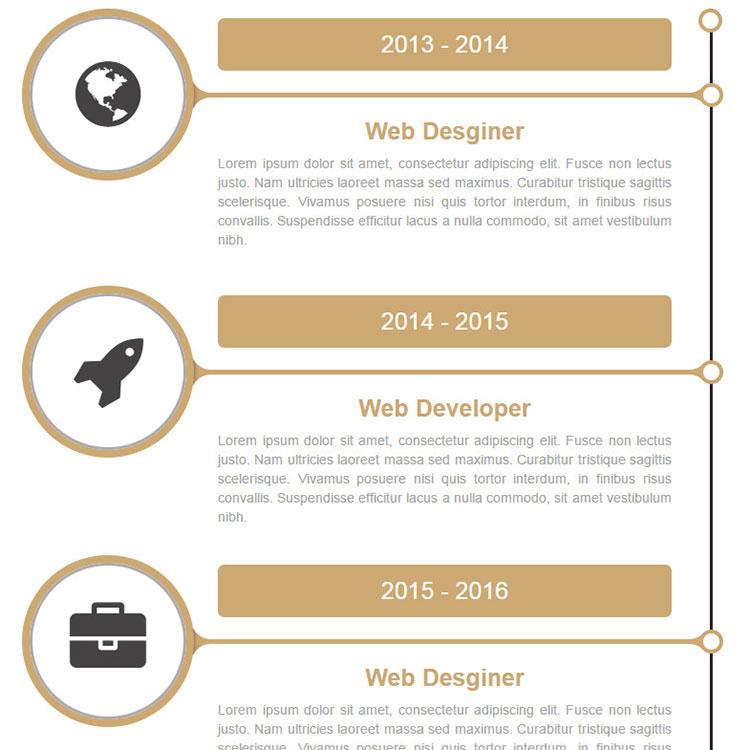 HTML5响应式垂直时间轴-2