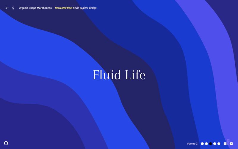 HTML5 SVG图形变形效果-3