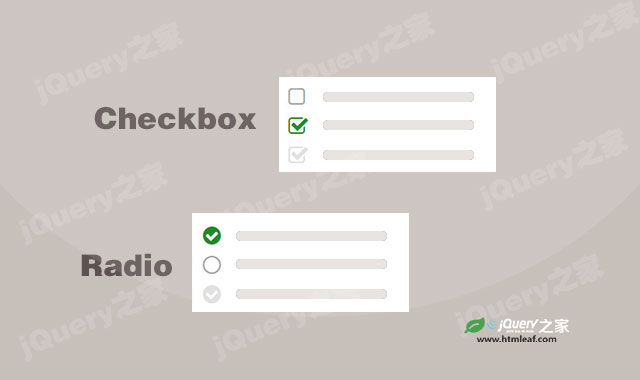 兼容IE8的CSS Checkbox和Radio美化插件