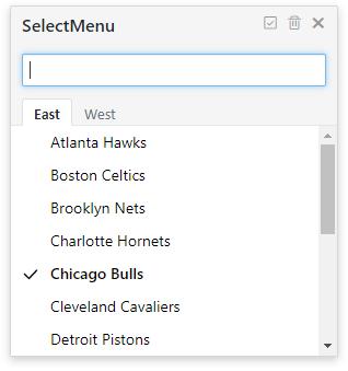 SelectMenu下拉菜单插件-高级菜单多分组数据模式