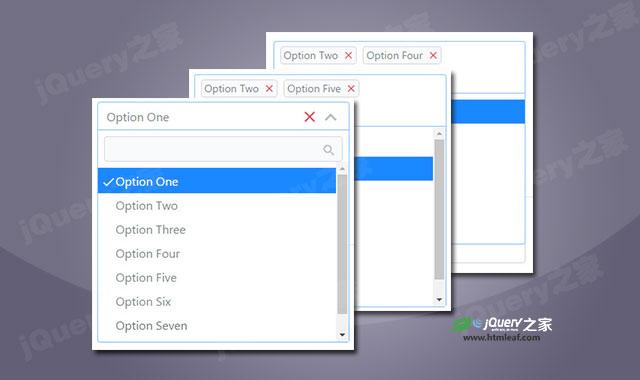 Bootstrap4下拉框功能强化插件