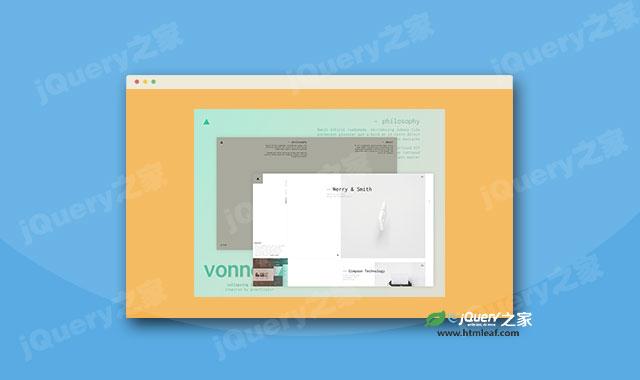 js和CSS3点击展开页面动画特效