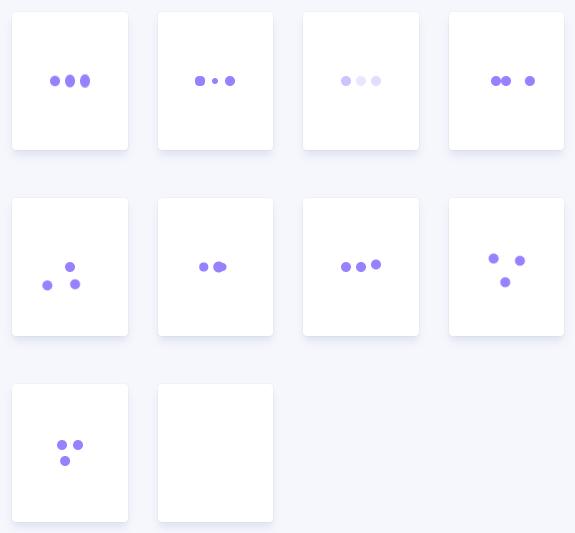三圆点CSS3 loading加载动画特效