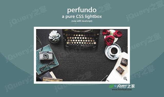 纯CSS3 lightbox插件