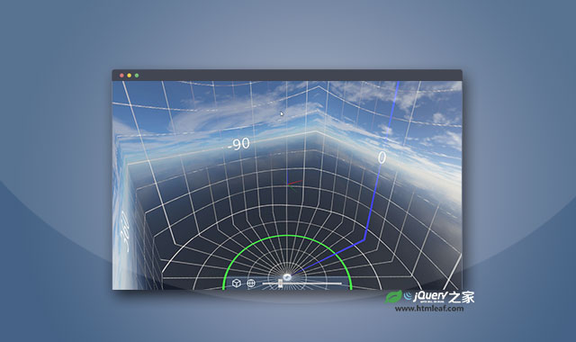 js和CSS3图片360度全方位3D预览插件