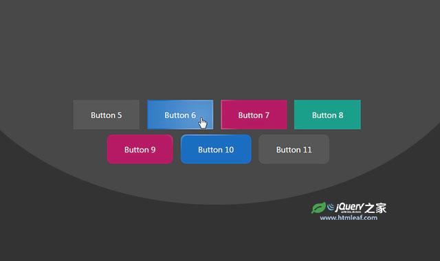 js和css3带反光特效的按钮插件