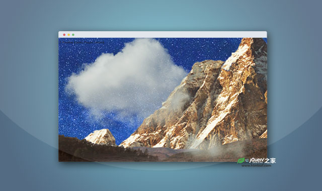 jQuery多层图片背景视觉差特效插件
