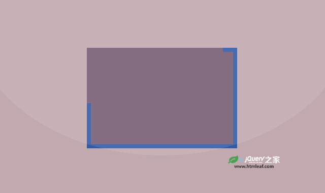 jQuery边框线条动画插件