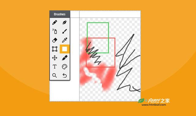 基于canvas的Photoshop样式网页涂鸦板插件
