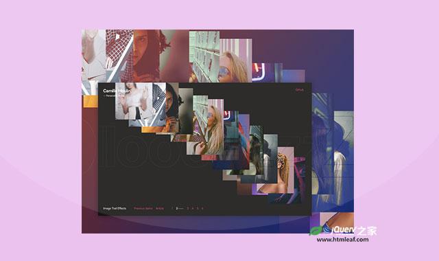 炫酷js和CSS3鼠标跟随图片序列动画特效