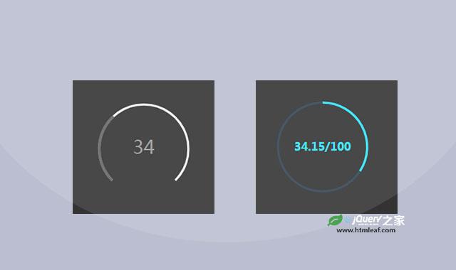 svg圆形进度条插件svg-gauge